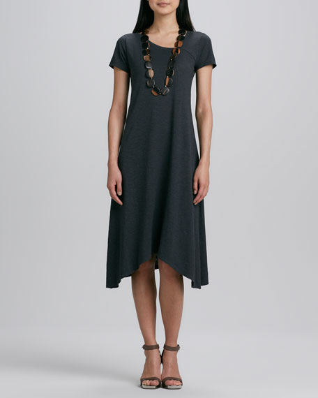 Hemp Jersey Handkerchief Dress