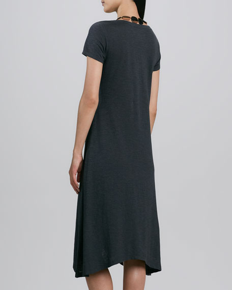 Hemp Jersey Handkerchief Dress, Women's