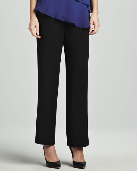 Silk Crepe Pants