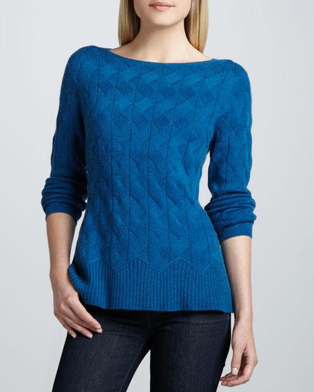 Cashmere Prep Sweater