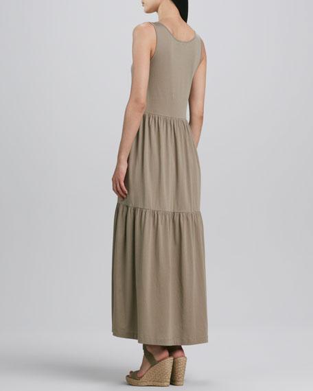Tiered Long Tank Dress, Women's
