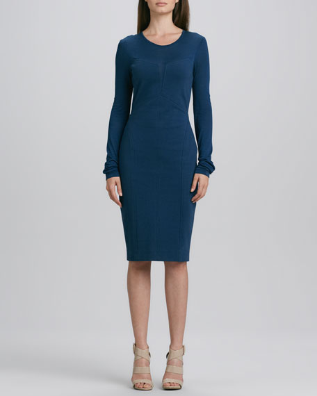 Modern Jersey Long-Sleeve Dress