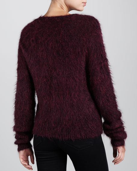 V Neck Pullover Sweater