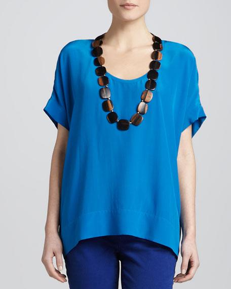 Silk Crepe de Chine Layering Dress, Women's