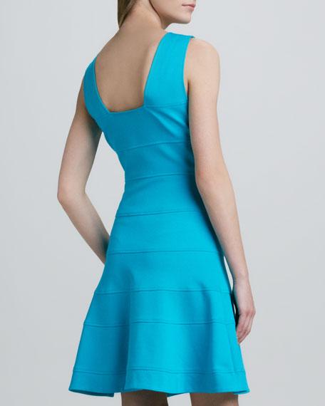 Nikola Sleeveless Flare Dress