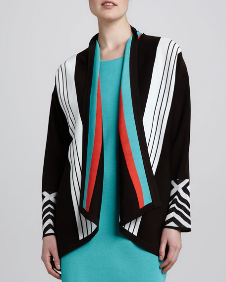 Nina Striped Cardigan