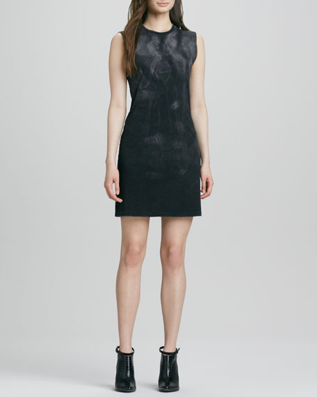 Cheri Faded Knit Dress