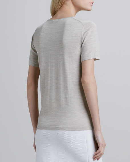 Lulina Slub Merino Wool Top