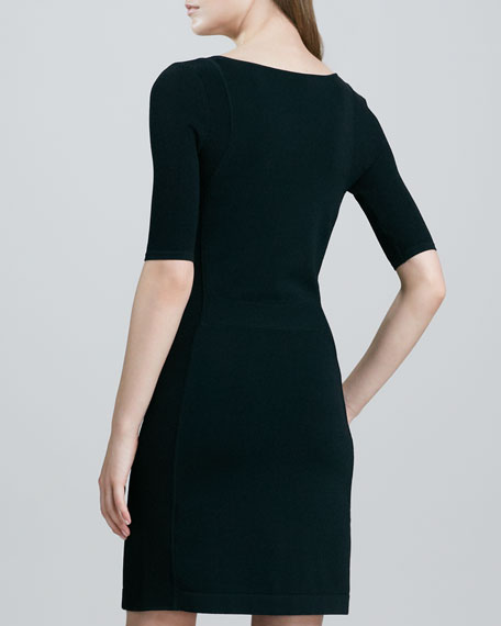 Julialynn Fitted Ponte Dress
