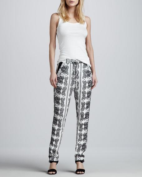 Cordoba Printed Pajama Pants