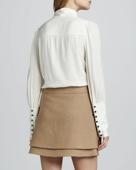 Venice Layered Miniskirt