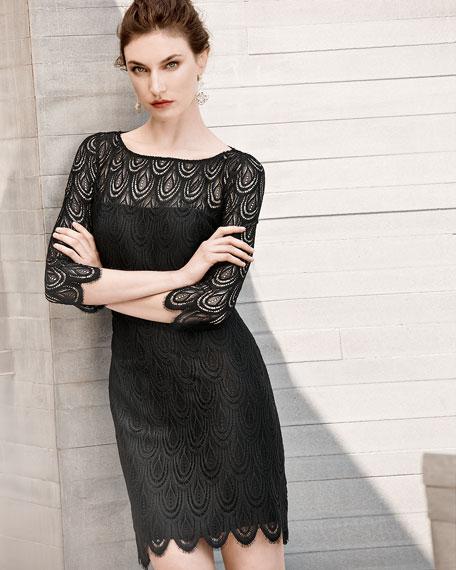 Hera Lace Cocktail Dress