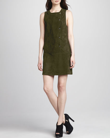 Stanton Suede Dress