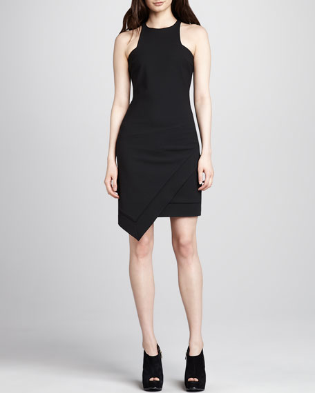 Claire Sleeveless Asymmetric Dress