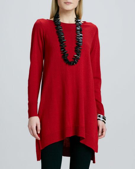 Merino Jersey Dress, Petite