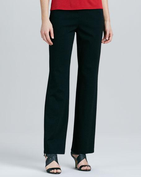 Ponte Straight-Leg Pants