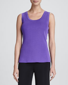 Misook Amy Scoop-Neck Tank, Women's