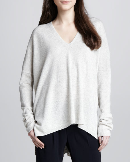 Wool-Cashmere Loose Sweater