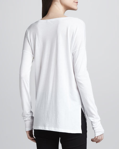Long-Sleeve SlubTee