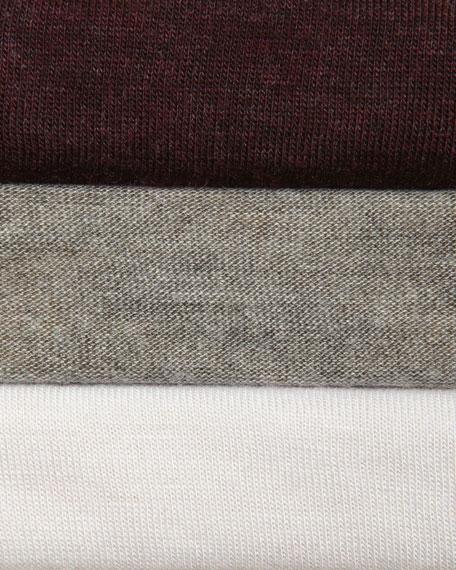 Long-Sleeve V-Neck Top