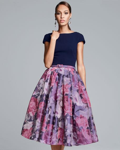 full skirt cocktail dress