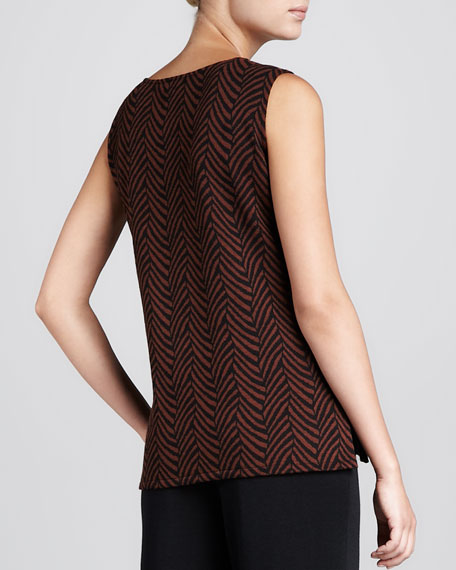 Jungle-Jacquard Long Tank
