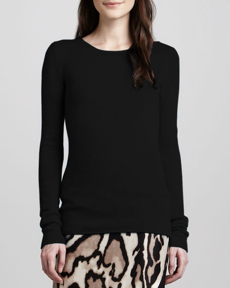 Niseko Long-Sleeve Cashmere Sweater