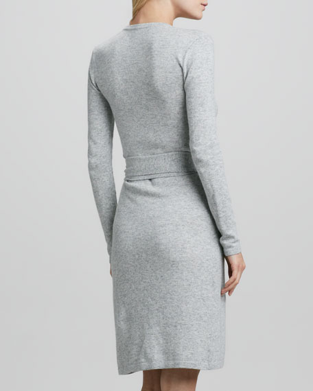 Linda Sweater Wrap Dress