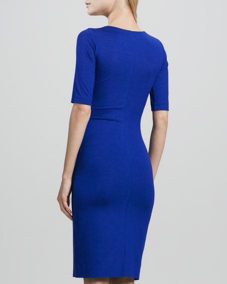 Raquel Half-Sleeve Dress