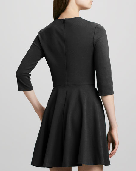 Jeannie Fit-and-Flare Dress