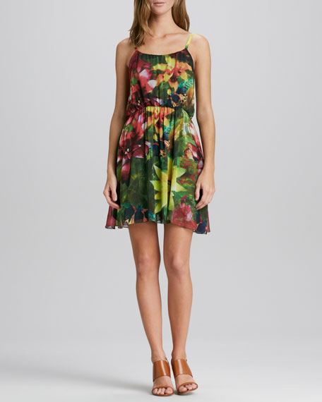 Daley Floral-Print Dress