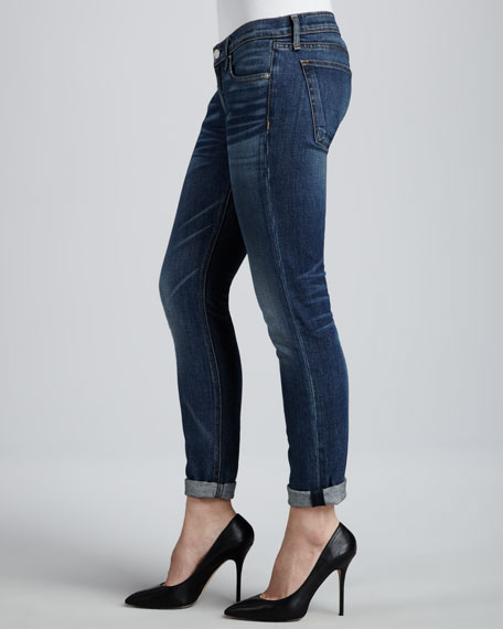 Bradford Faded Cropped Jeans