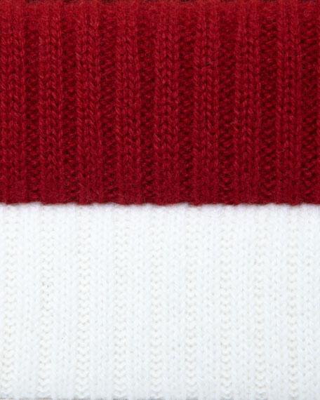 Cashmere Turtleneck Peplum Sweater