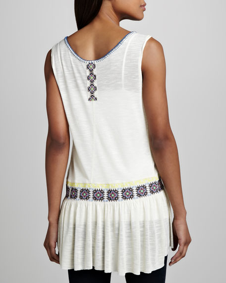 Moonlight Mile Embroidered Tunic