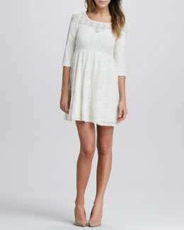 Free People Shake It Up Lace Dress