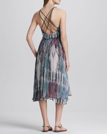 Strappy-Back Gypsy Dress