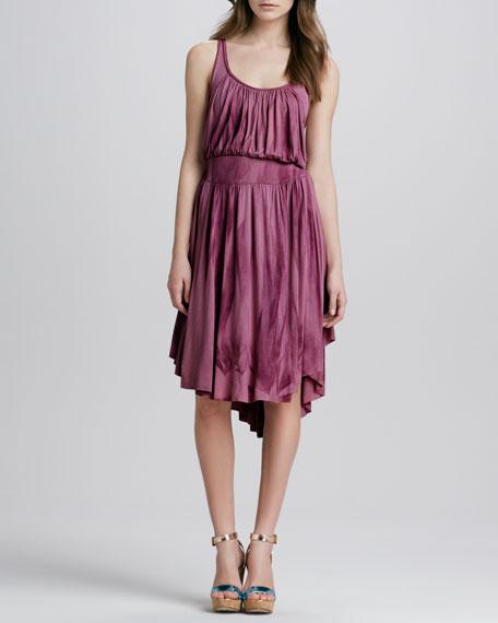 Cast Your Net Crochet-Back Dress