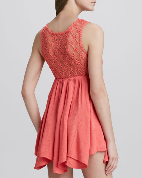 Fiesta Lace-Top Dress