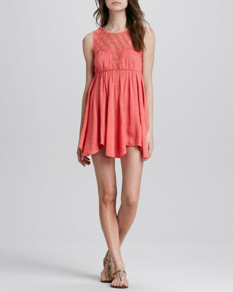 Fiesta Lace-Top Dress