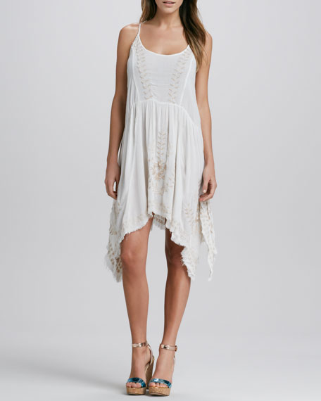 Meadows Of Medallion Slip Dress