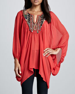 Free People Fortune Teller Caftan Top