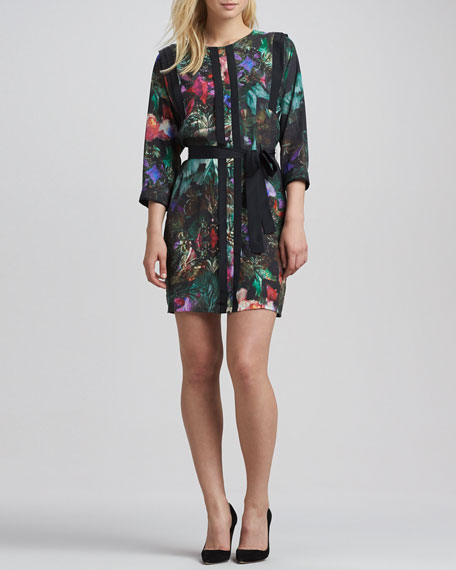 Nicolle Printed Tunic Dress