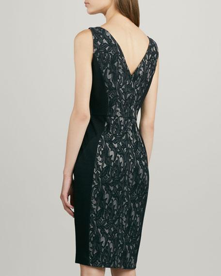 Lily Jacquard Illusion Dress
