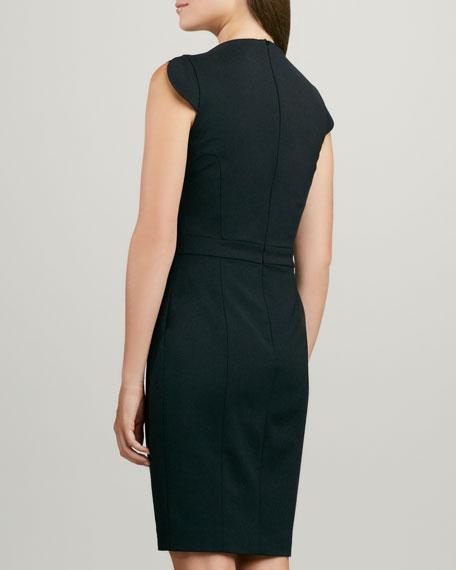 Lolo Cap-Sleeve Classic Dress