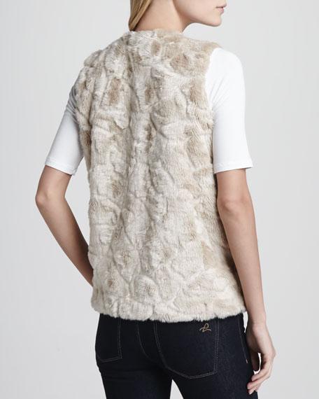 Nala Faux-Shearling Vest