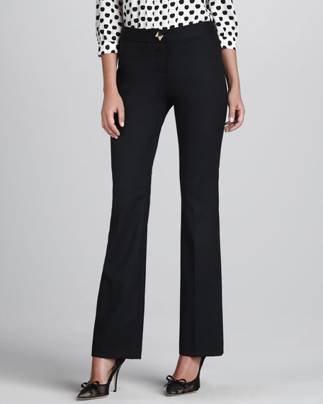 daylin pyramid-button trousers