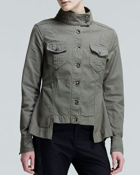 Chamberlain Army Canvas Waist-Panel Jacket