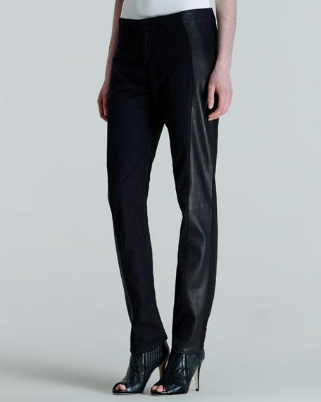 Hyde Portobello Leather-Side Pants