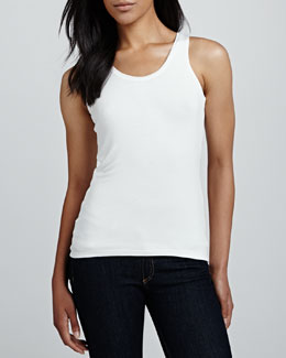 David Lerner Racerback Sweater Tank