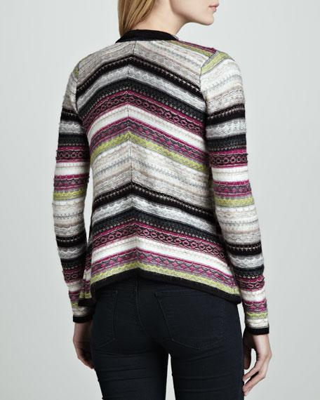 Onyx Striped Combo Sweater
